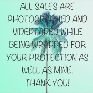 Other - All sales are photographed and videotaped